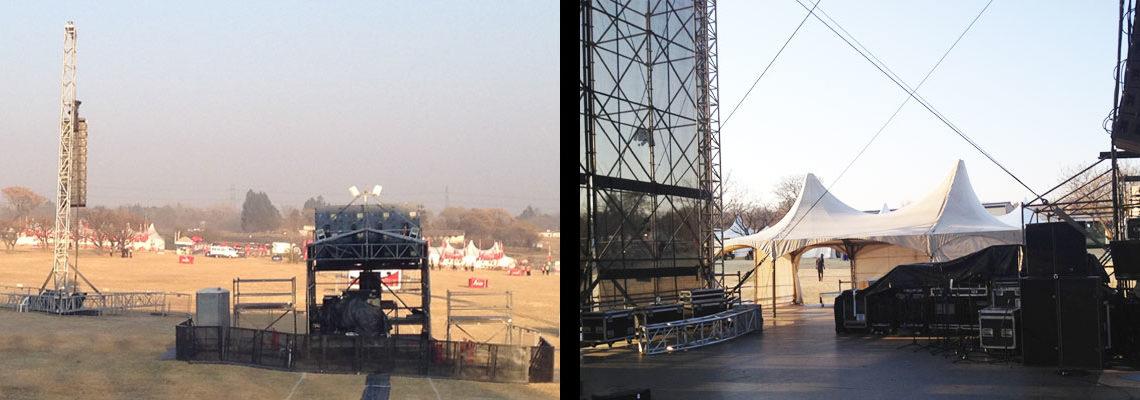 Event Power - GPA Electric - Joburg Day setup 2nd image