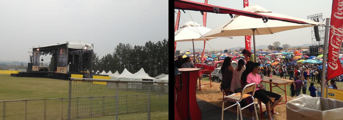 Event Power - GPA Electric - Joburg Day setup
