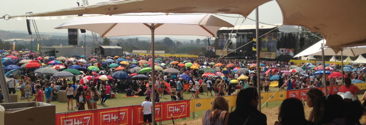 Event Power - GPA Electric 94.7 JoBurg Day Concert