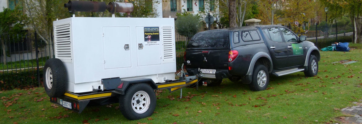 Event Power - GPA Electric Mobile generator for events