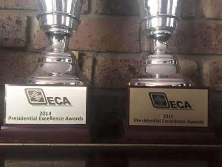 GPA Electrical ECA Presidential Awards 3